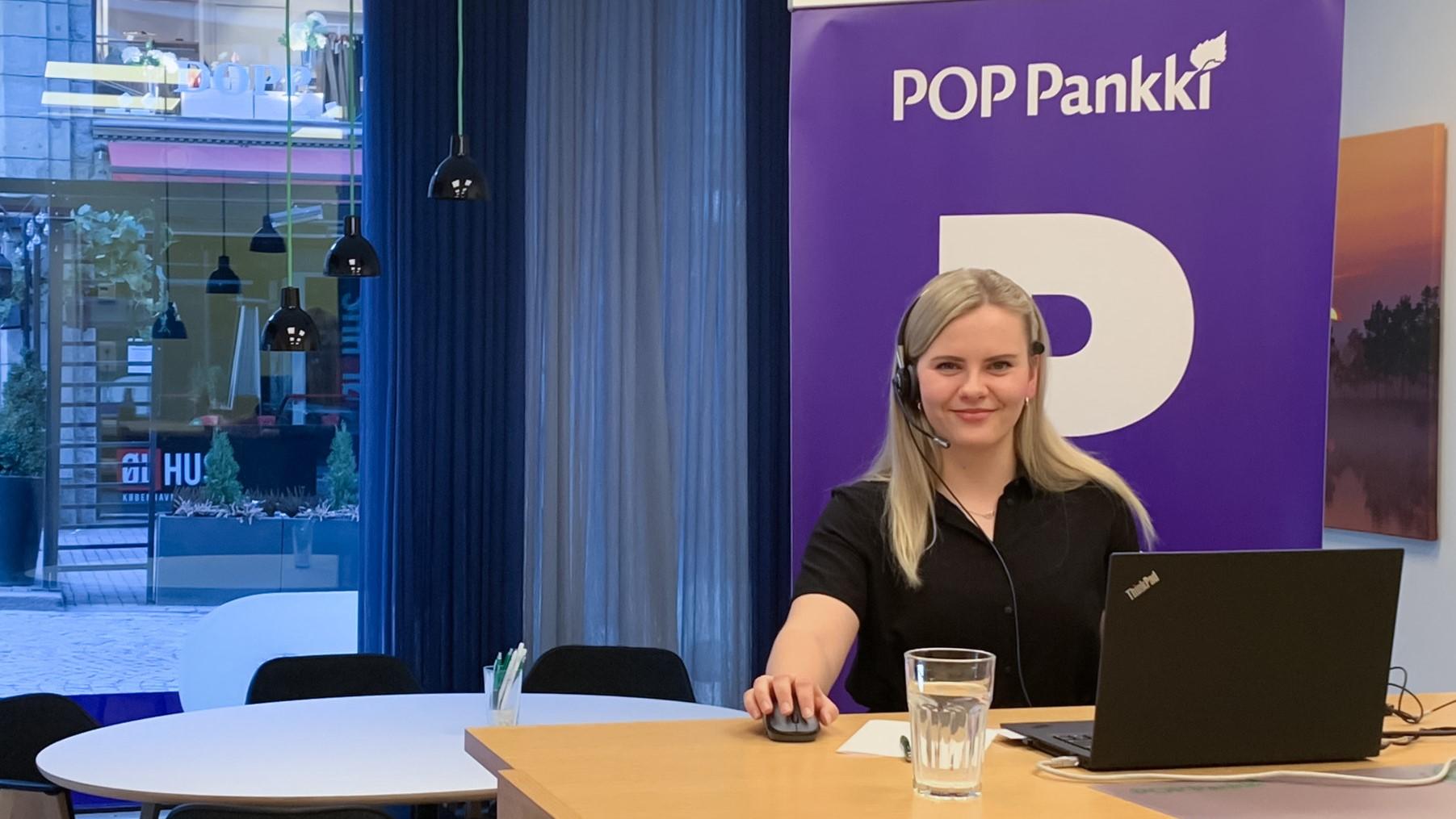 Katri Lakio POP Pankki Suupohjasta vastasi ASP-kysymyksiin webinaarissa