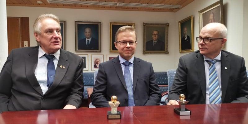 Ari Heikkila, Mikko Varis, Pekka Liimatainen