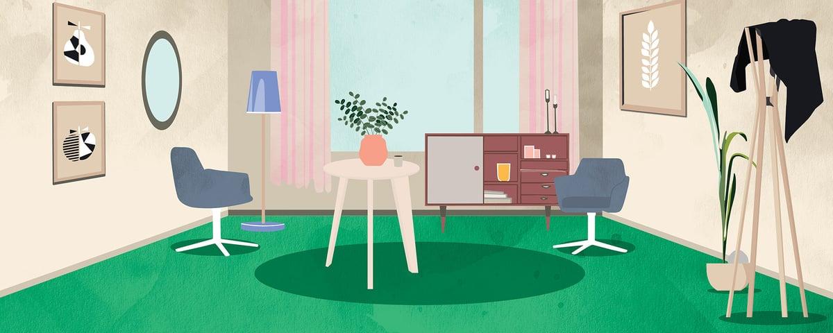 Koti kuvituskuva
