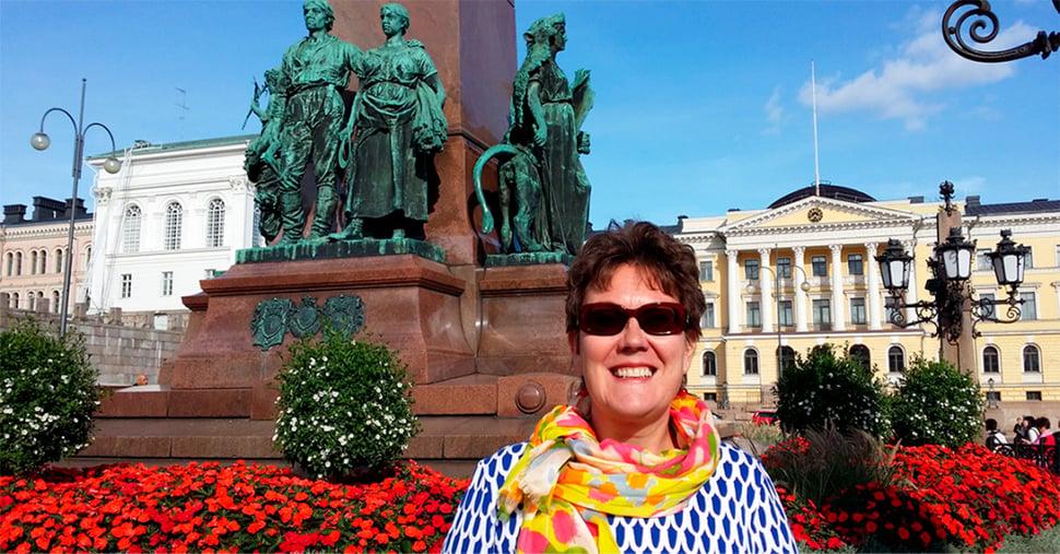 Ulla Mikkanen, henkilökuva.