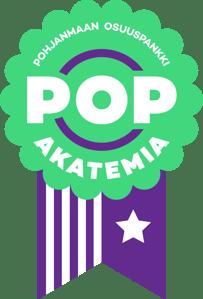 POP Akatemian logo